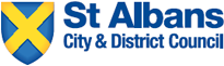 An image of the St Albans City & District Council logo